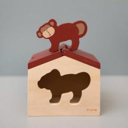 Maison en bois - Mr. monkey