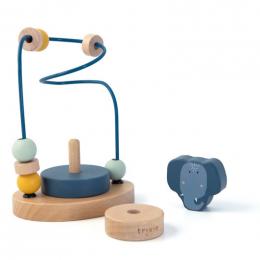Labyrinthe à perles en bois - Mrs. elephant