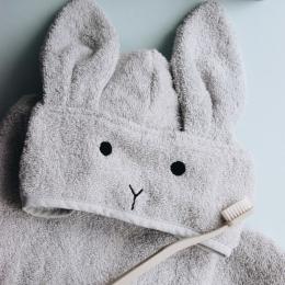 Cape de bain Albert - Rabbit dumbo grey