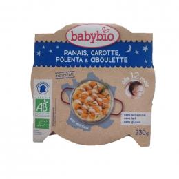 Panais, carotte, polenta et ciboulette - 230 g - Dès 12 mois