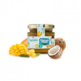 Préparation aux fruits Bio - Mangue et coco - 125 g - à partir de 3 ans