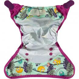 Culotte de protection pour couches lavables - Taille unique velcro - Paresseux